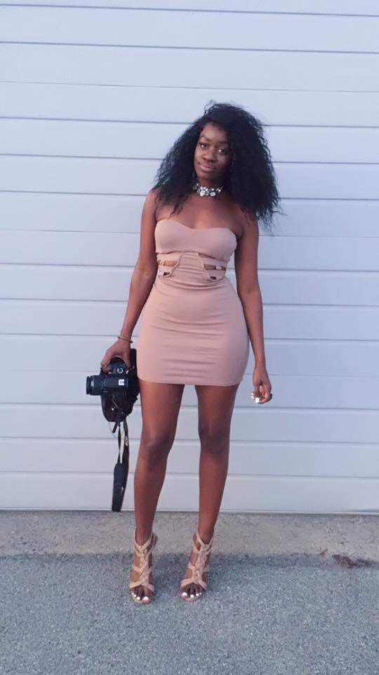 Nude Dress and Nude Heels from Charlotte Russe - obsessed!