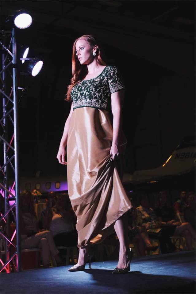 Designer: Bambi Layne / Model: Jessica Lahr