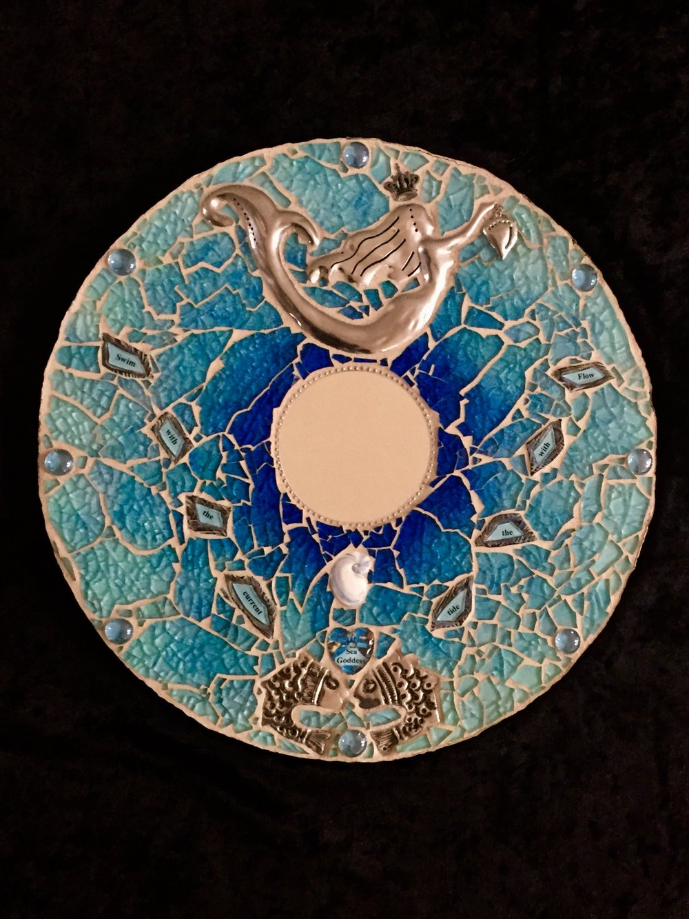 "Sea Goddess, 12"" SOLD"