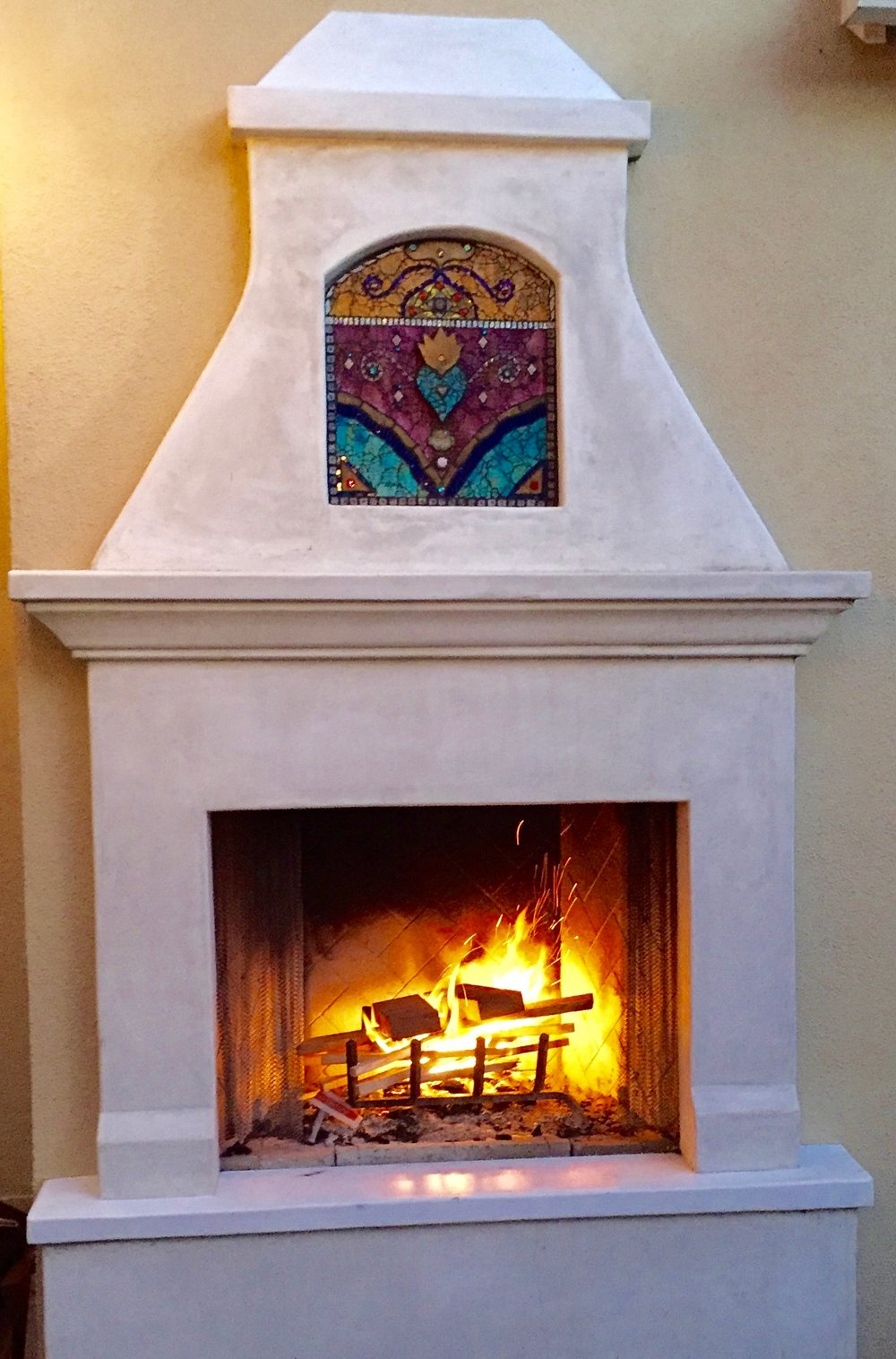 Fireplace Niche - SOLD