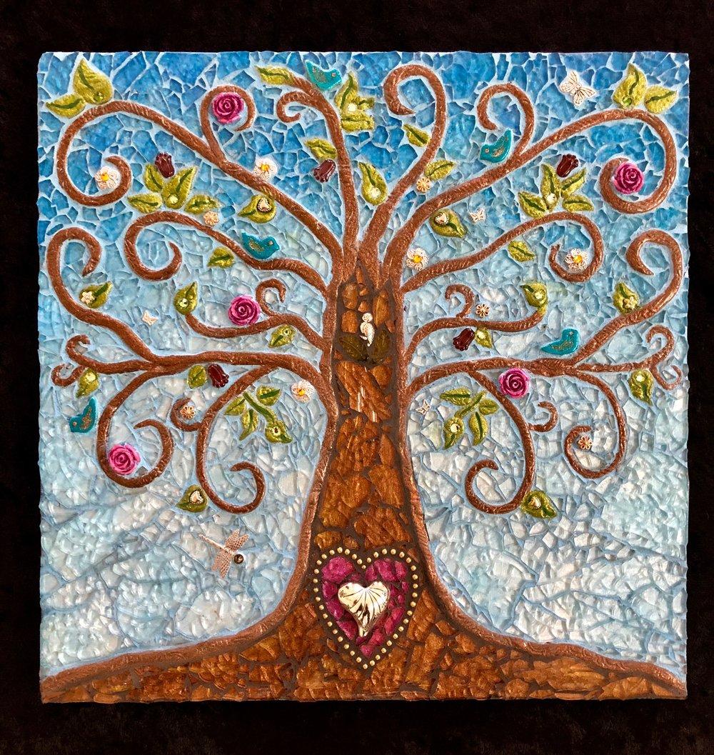 "Tree of Life 12""x12"""