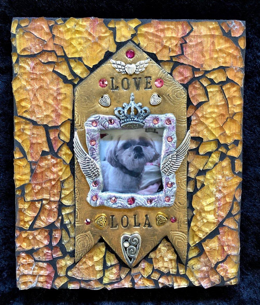 """Lola, Pet Memorial 5"""" x 6"""""""