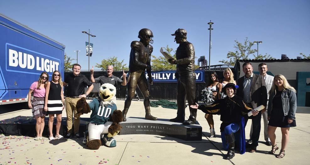 "Check out our news blog to see what's happening in the art world! - Recent Post:The ""Philly Special"" is now immortalized in bronze outside the Eagles stadium. The Statue commemorates the winning play that crowned the Philadelphia Eagles as the 2018 Super Bowl LII champions..."