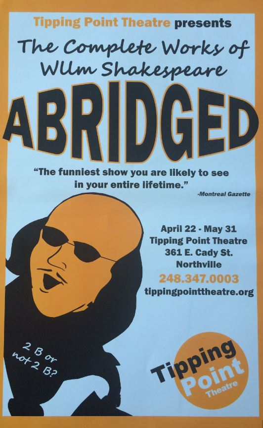 The Complete Work Of William Shakespeare Abridged Tipping Point