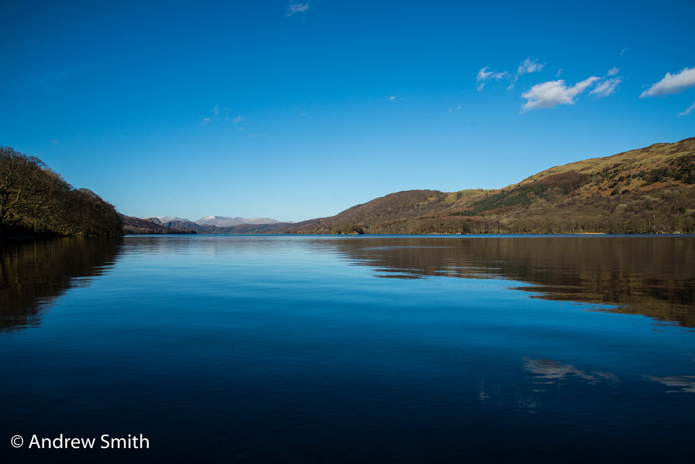 Coniston Water towards The Old Man of Coniston