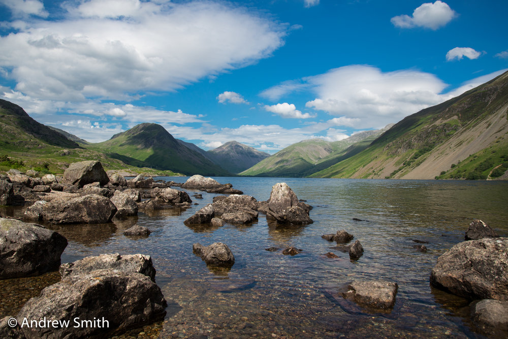 Wast Water towards Scafell Pike