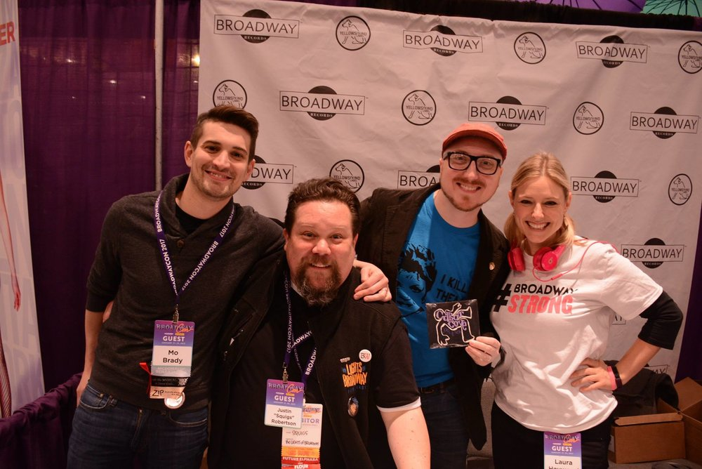 "Click here to view photos from the ""Cabot Cove"" CD signing at BroadwayCon 2017!"