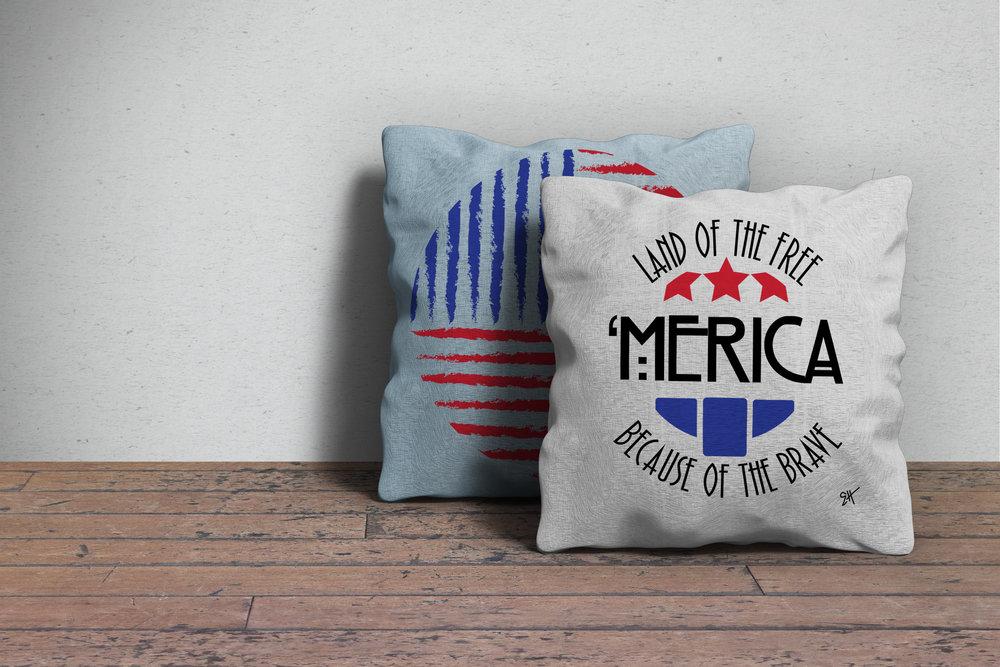 AMERICA THEMED DESIGNS