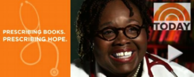 Reach Out and Read Virginia's Dr. Boone Prescribing Hope for her patients on The Today Show.
