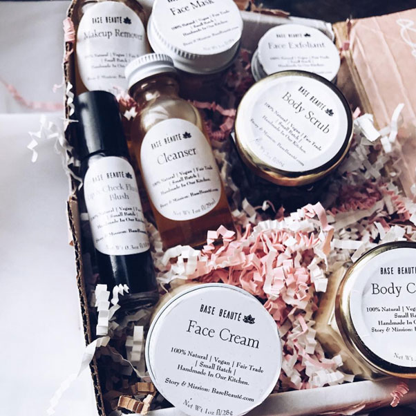 Vegan, skincare built with advice from grandmas around the world - Base BeautéUSE CODE: PALMBF for 20% off. Ends November 30, 2017 at 11:59pm PT. Plus, get free US shipping on orders $75+. Photo @crueltyfreeandmeCYBER MONDAY: PALMCYBER to get $10 on orders $50 or more. Plus, get Free US shipping on orders $75+. Ends 11/30/2017 at 1am PTPopular: Nourish & Glow Trial Kit ($38)