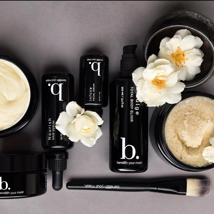 Luxe beauty that is safe to absorb and doesn't challenge the immune system. - Beneath Your MaskUSE CODE:PALMCYBER for 15% off all ordersFree shipping on all orders over $100Ends 12:00am PST on 11/28/17Popular; Nourish Skin & Hair Serum ($60)