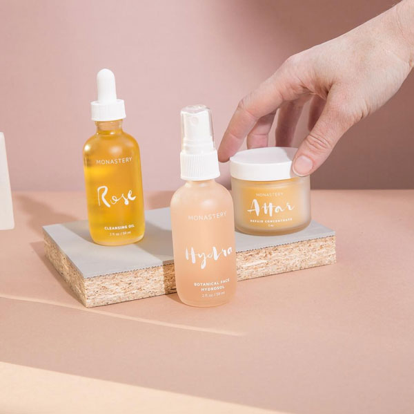 Luxury oil based skincare line, incredible scents and botanical infusions - MONASTERYUse code:PALMCMfor 20% off the full site, expires 11/24 midnightPopular: Rose Cleansing Oil ($34)