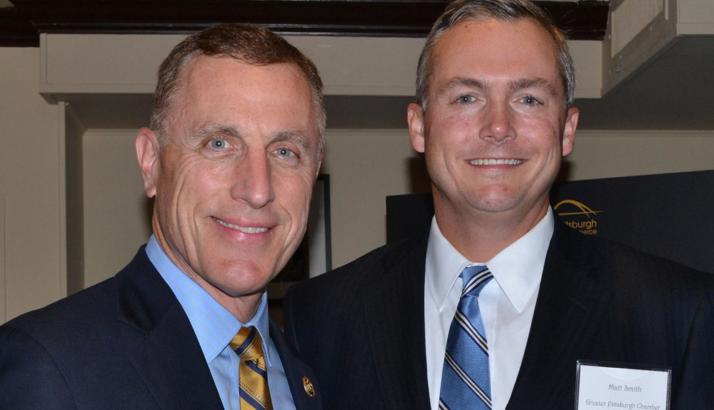 U.S. Congressman Tim Murphy and GPCC President Matt Smith at the GPCC's 2016 Elected Officials Reception in Washington, D.C.
