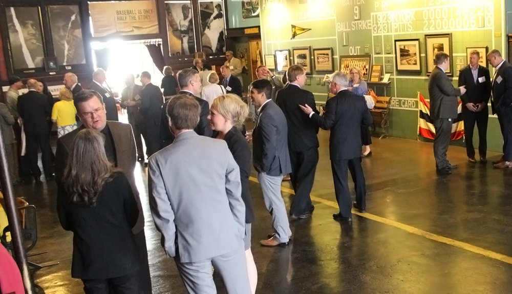 The GPCC hosted a meet and greet reception for elected county and city officials across the 10-county Pittsburgh region at the Roberto Clemente Museum in Pittsburgh's Lawrenceville's neighborhood.