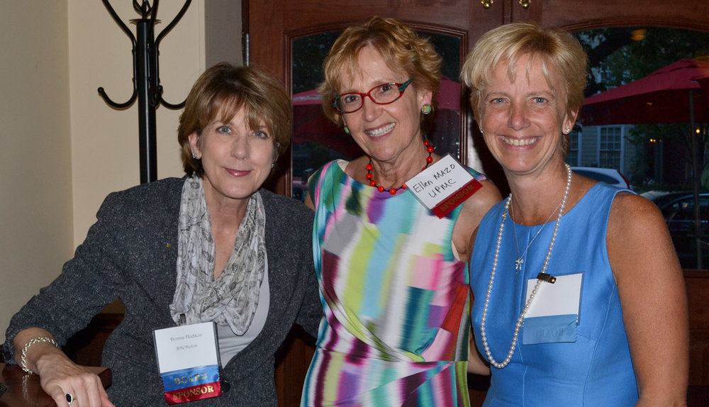 (L-R) GPCC Vice Chair Donna Hudson, Ellen Mazo, Children's Hospital of UPMC and GPCC Chair Laura Ellsworth at the GPCC's 2016 Elected Officials Reception in Washington, D.C.