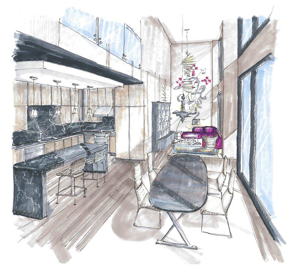 Conceptual Design Downtown Condos