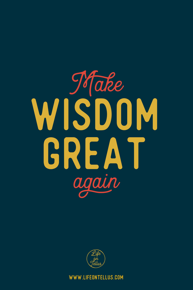make wisdom great again