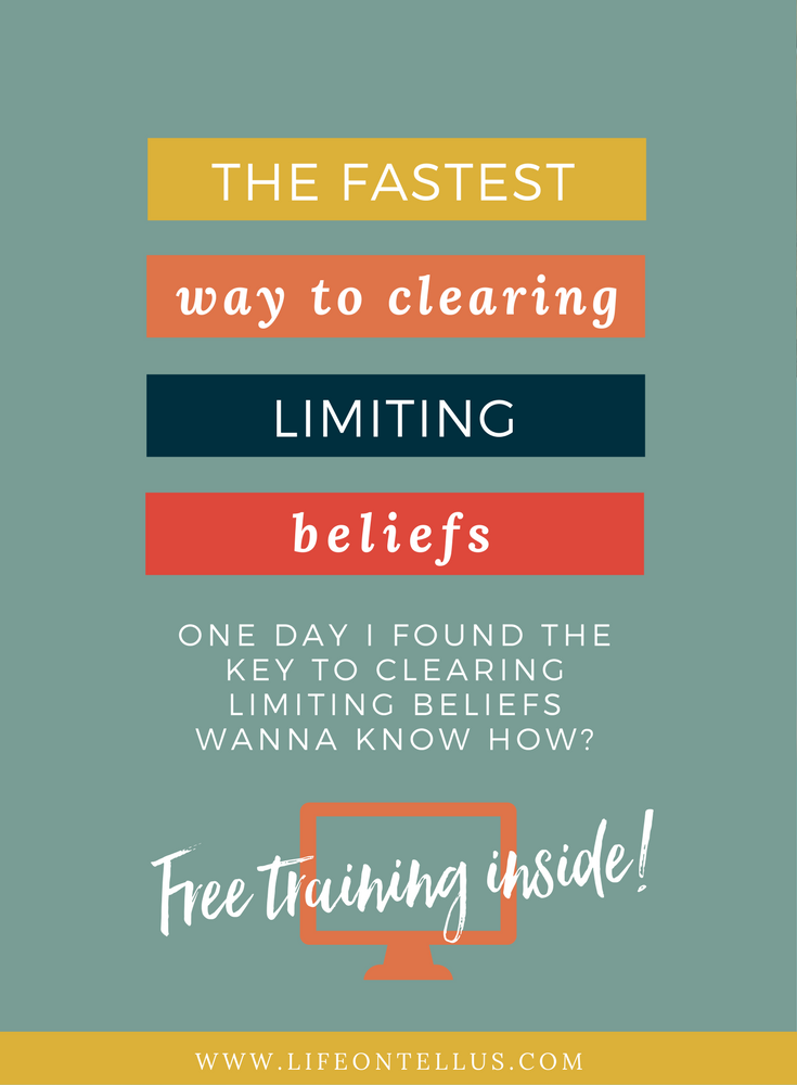 The fastest way to clearing limiting beliefs