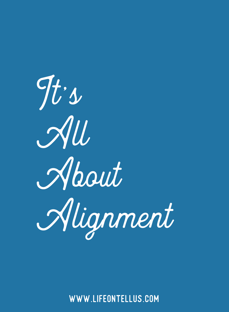How to get into alignment using the 3 s's framework