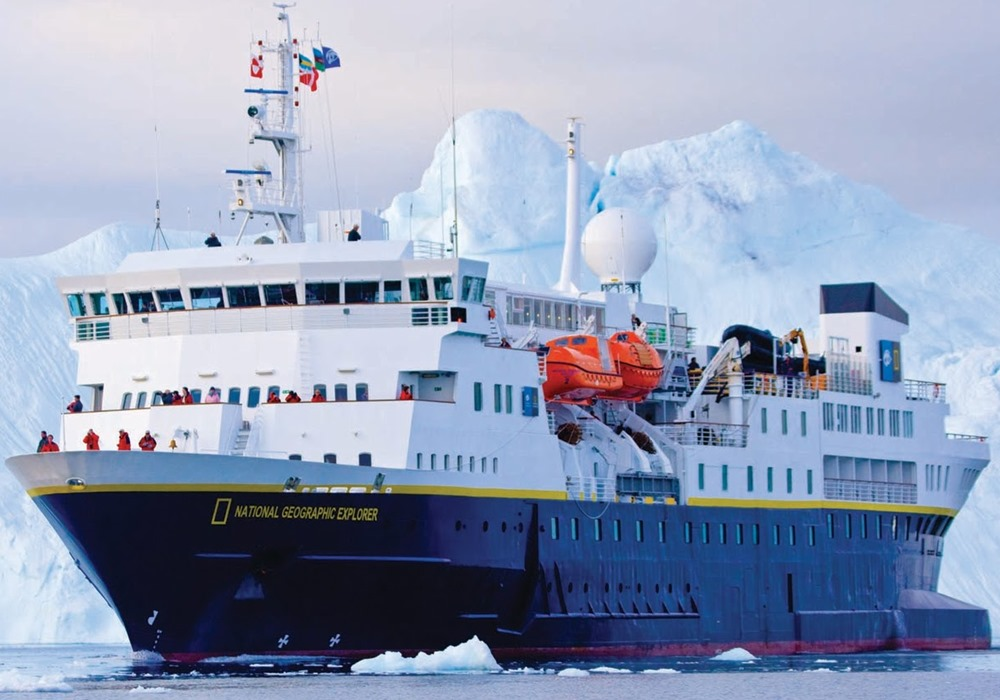 Inaugurated in 2008,  The Explorer  is the world's ultimate expedition ship. Her design and equipment is the result of almost 200 years of collective expedition experience.