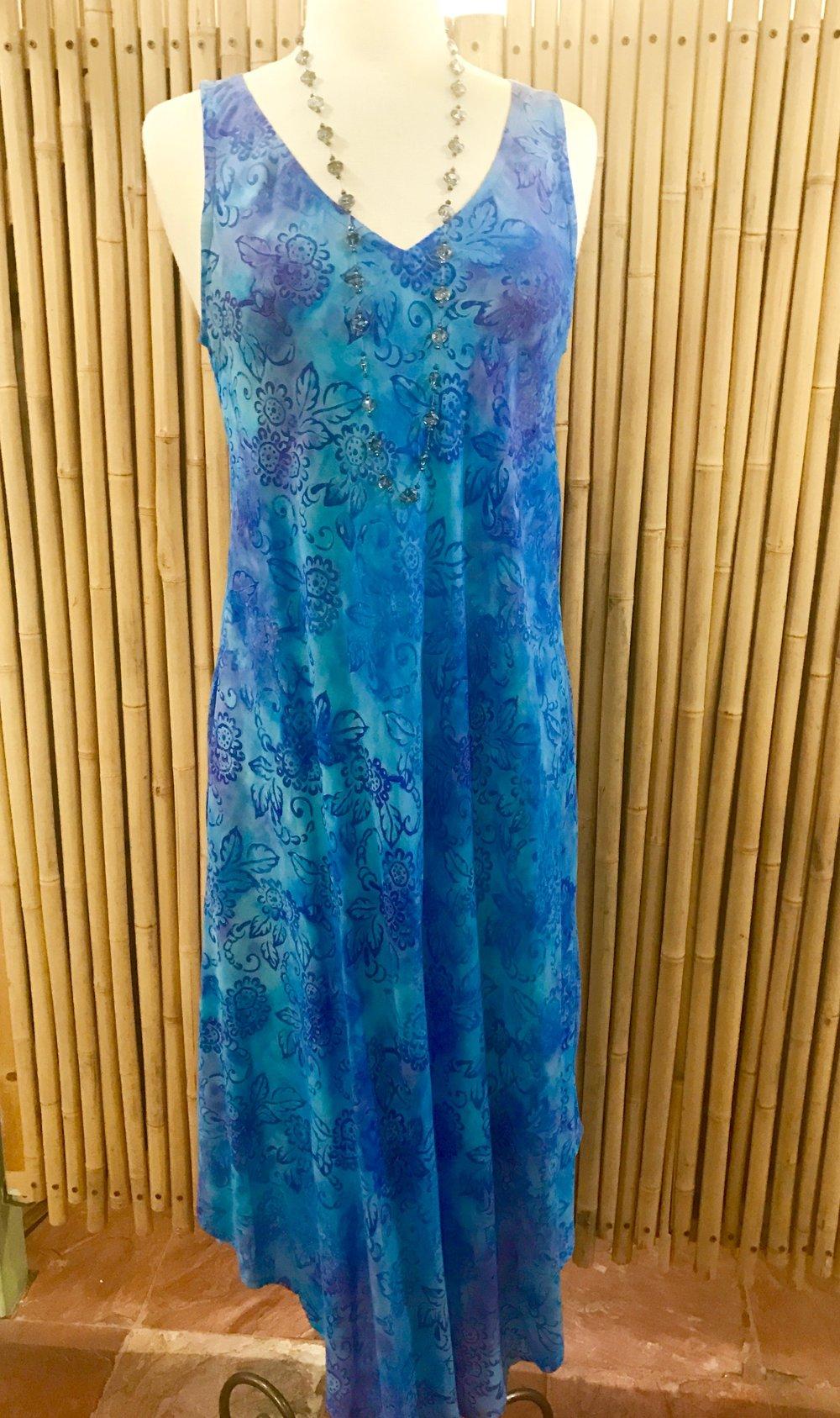 Batik dress by Oceania