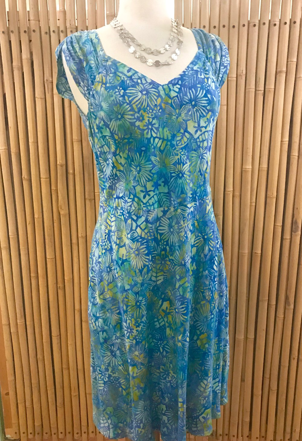 Batik dress by Oceania