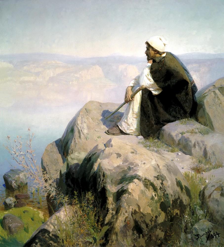 Dreams by Vasiliy Polenov, 1888.