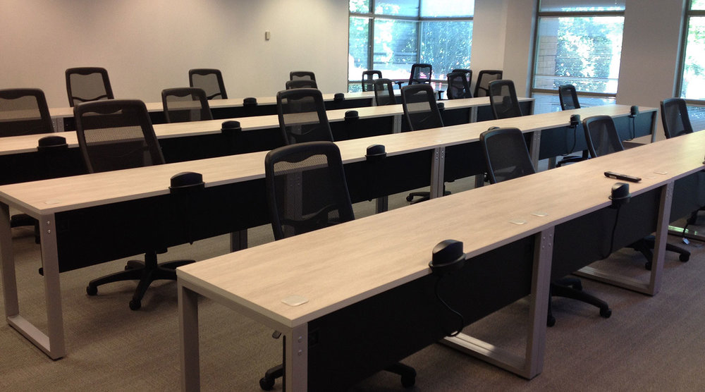 Training Tables Or More Specifically Office Work Are Ideal For Virtual Classrooms And Interactive Conferences