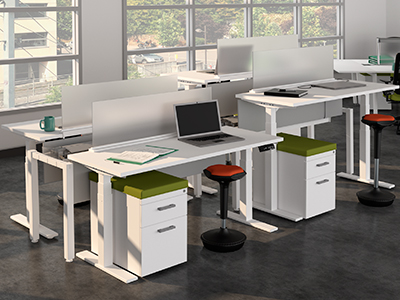 Adjustable Height SitStand Desks Fight Fatigue and Cost Less at