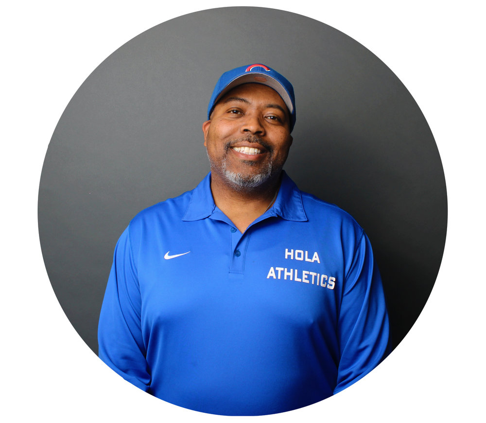 BRUCE HOOKS - Athletics Director