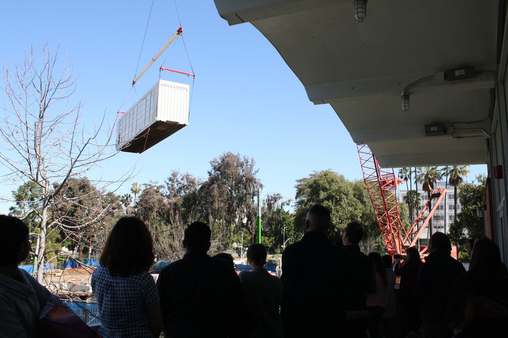 Container Overhead with Staff Watching.JPG