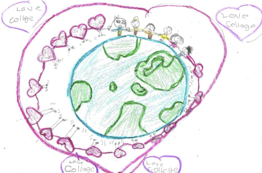 Drawing by HOLA StartStart Elementary Student