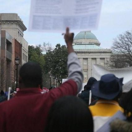 Fotografía cortesía del AFL-CIO de Carolina del Norte