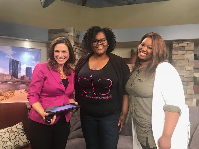 Mirror Me Images' Founder and Author Shantelle White featured on WZZM 13 to discuss You Are Enough with Meredith TerHaar