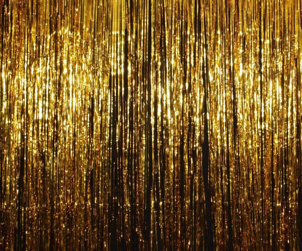 Gold Tinsel**