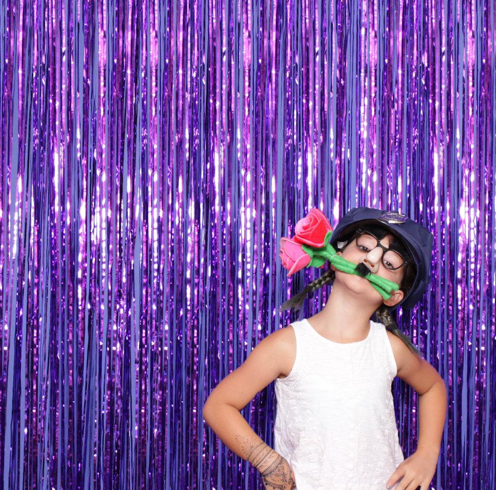 Purple Tinsel*