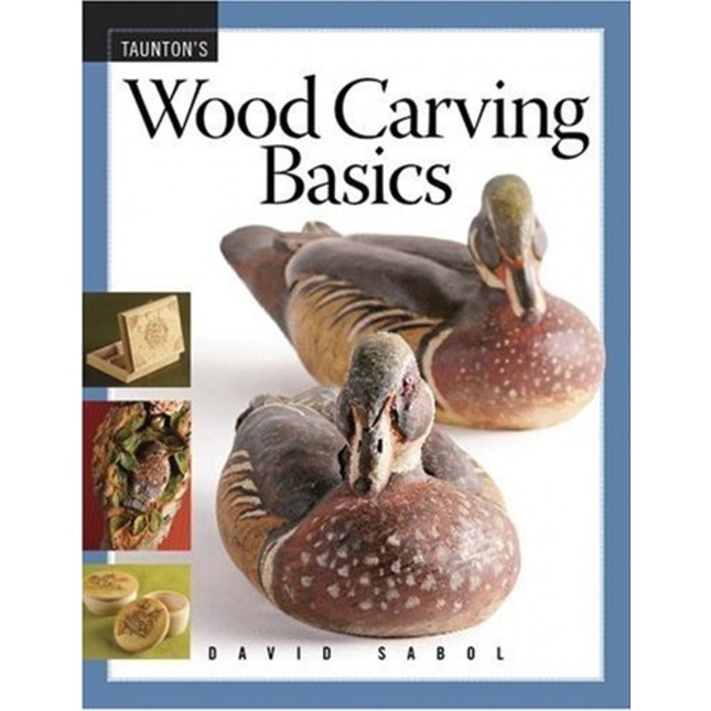 Wood Carving Basics - by David SabolCarving is an area of woodworking that has wide appeal and can start as simply as whittling figures with a pocket knife. Since the cost of entry is so low, many people are willing to give it a try. But some people are put off by the conflicting information about what tools to buy, how to sharpen them, and by the bewildering range of carving styles. This book, with its common-sense approach to tools and sharpening, and its broad survey of the many styles is the perfect introduction for the novice carver. The projects will help the beginner become familiar with the tools and learn skills while trying a variety of carving styles to see which suits him best. The projects range from the traditional to the contemporary and reflect the tastes of today's woodcarvers.
