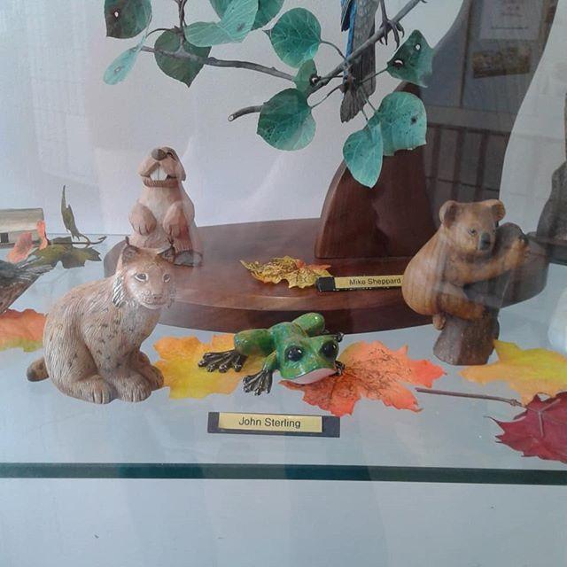 By John Sterling #ArtsBurlington #Burlon #hamont #agb #agblife #ArtsBurl #woodcarvers #woodcarversandsculptors