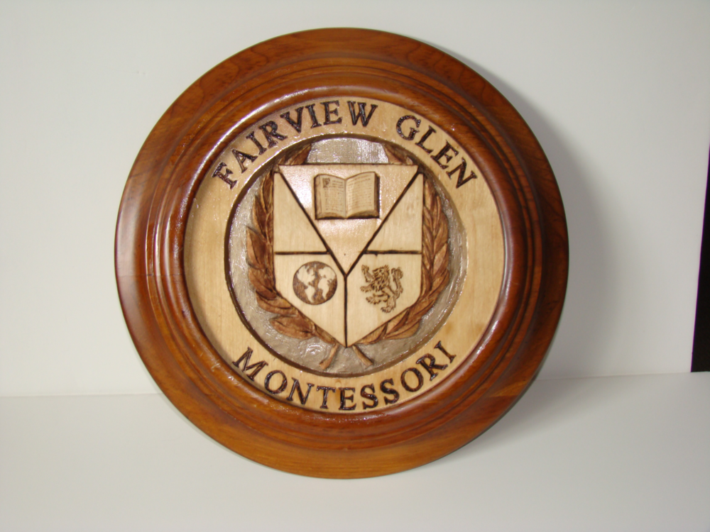 Fairview Glen Montessori Crest by Ken Maitland