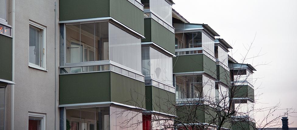Hans & Greta   Entrepenadform: Totalentrepenad  Pris: 13 milj  Renovering av befintlig byggnad samt balkonger