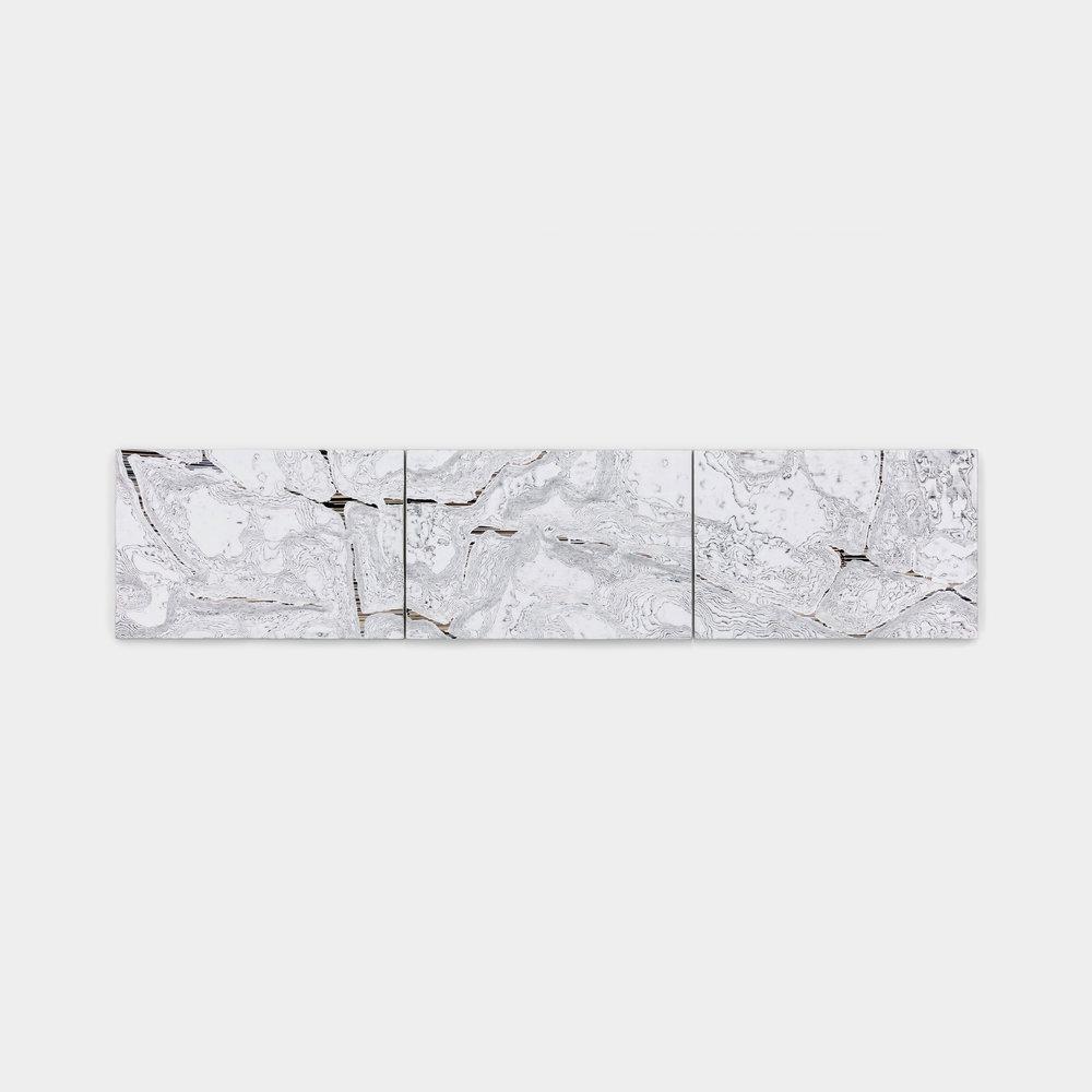 dimensão fujipaper,  2017  fotografias esculpidas  90 x 20 x 2 cm (cada)