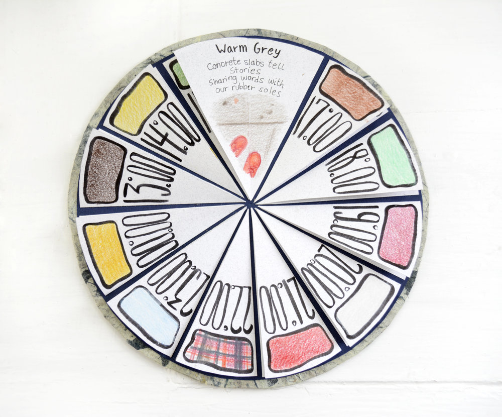 March (Pop-up Color Wheel Poetry Book)