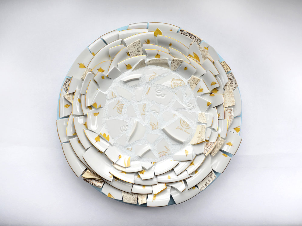 Diane 1 (Gold) [Wedding Plates, 1953]
