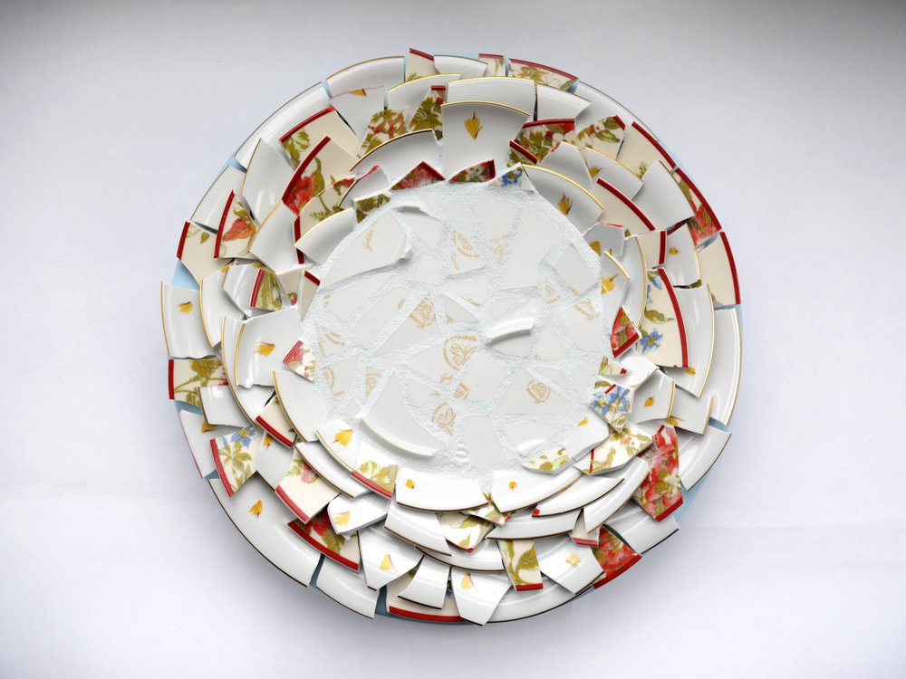 Diane 2 (Red) [Wedding Plates, 1953]