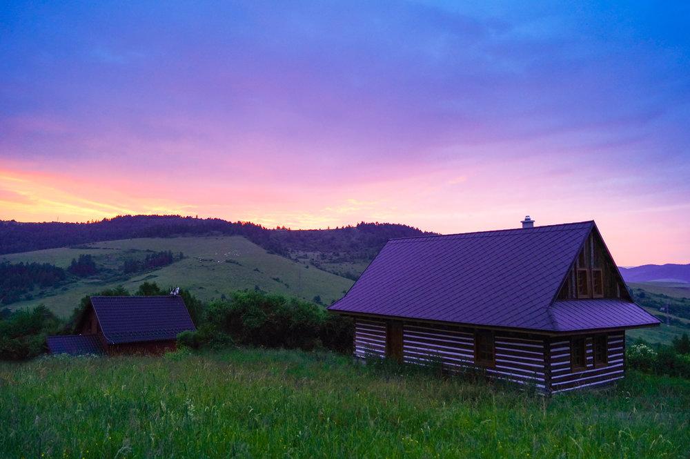 cabin at sunset.jpg