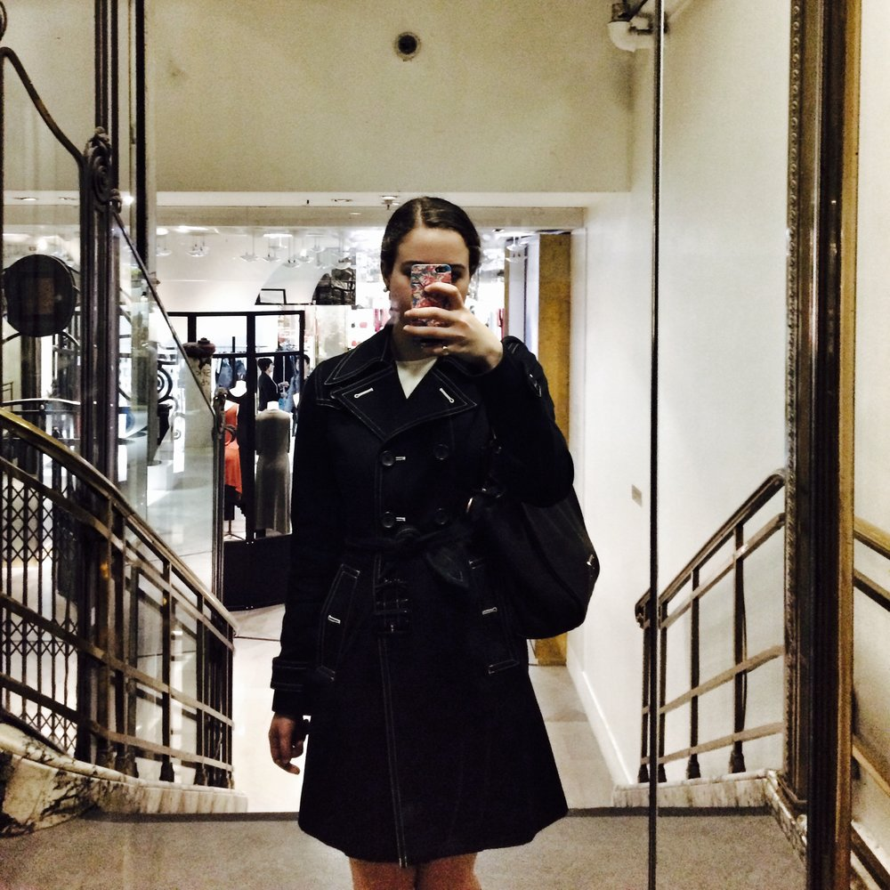 Mirror Shot at Galeries Lafayette