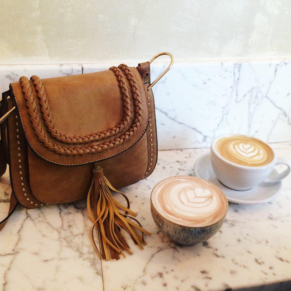Brunch Babes Bag and Lattes.JPG