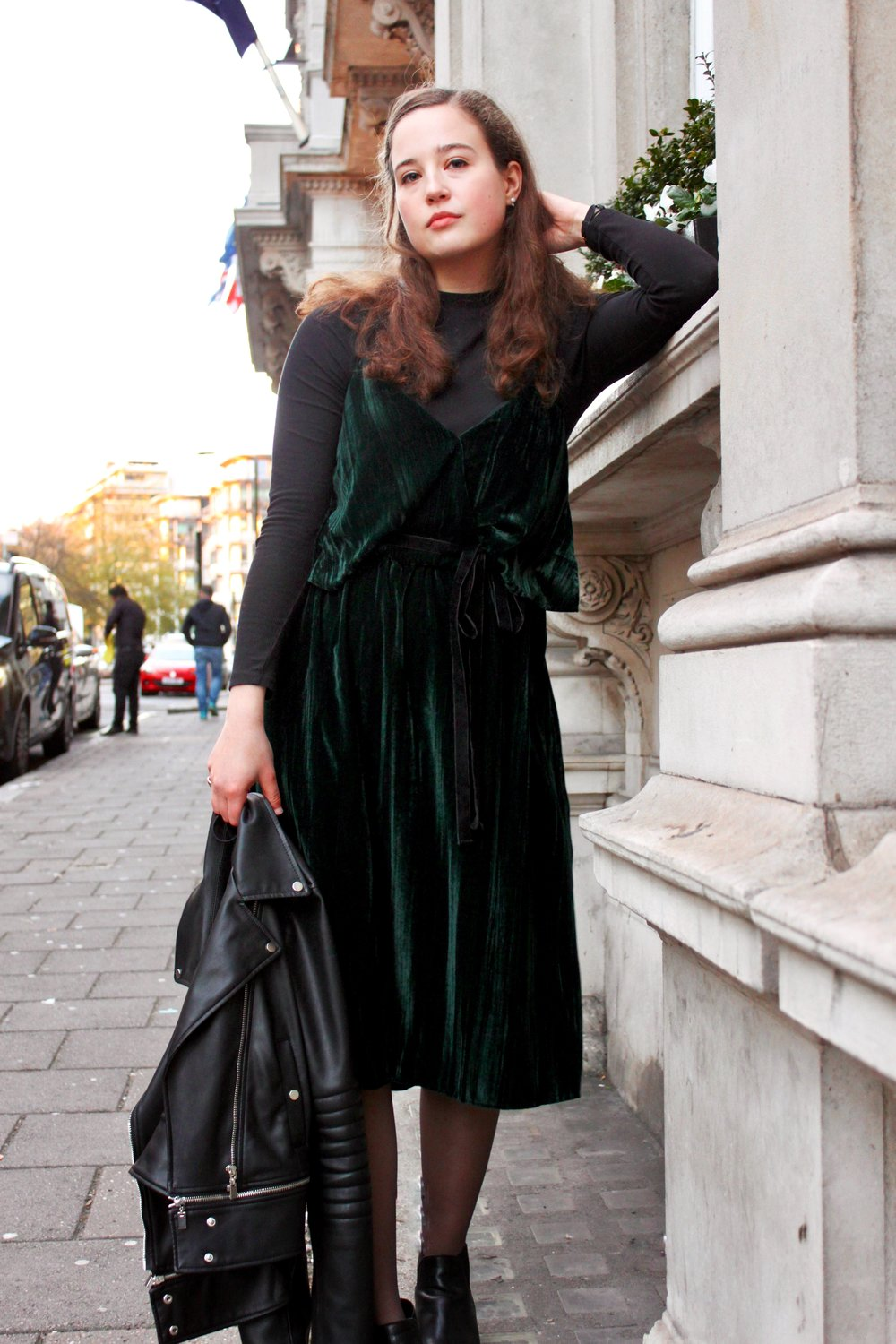 Re-styling Festive Wear Cady Quotidienne Outfit Shot.JPG