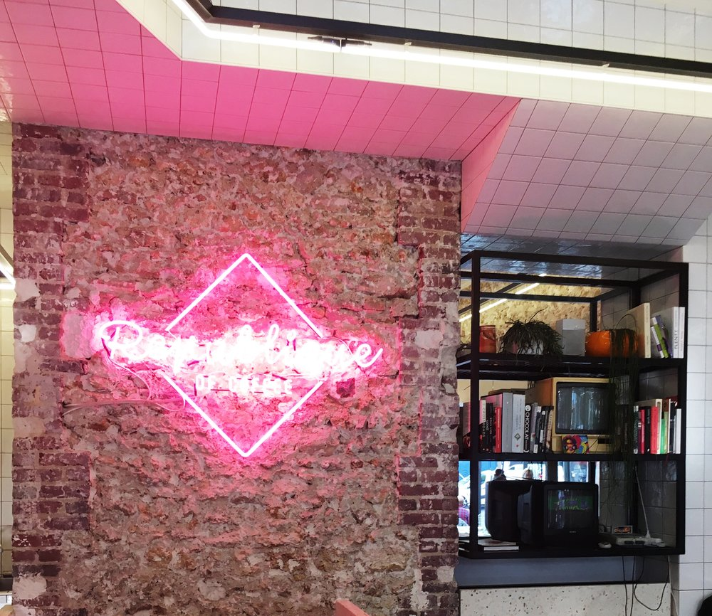 Republique Coffee Neon Sign   3 Reasons Why Millenial Pink Is Here to Stay- Cady Quotidienne.jpg