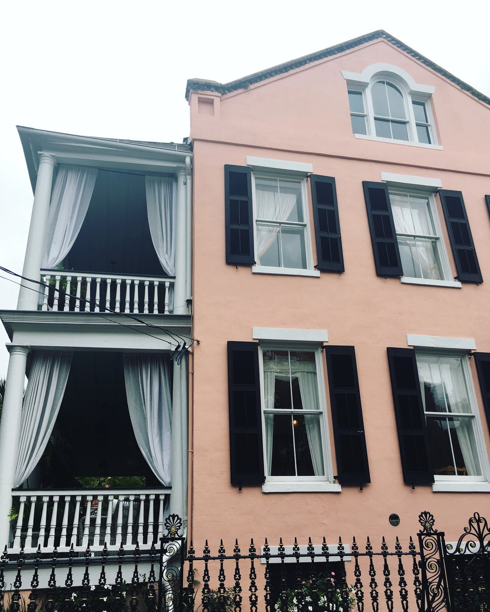 Pink Charleston House   3 Reasons Why Millenial Pink Is Here to Stay- Cady Quotidienne.jpg